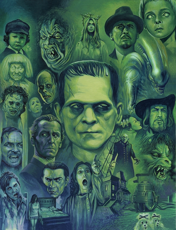pictorial history of horror