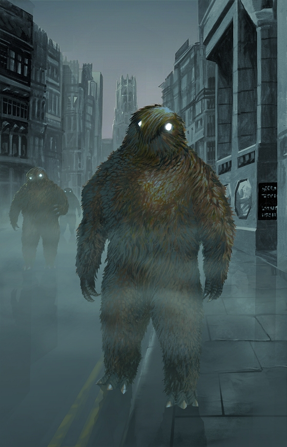 Doctor Who - Web of Fear 2 - Yeti in the Fog